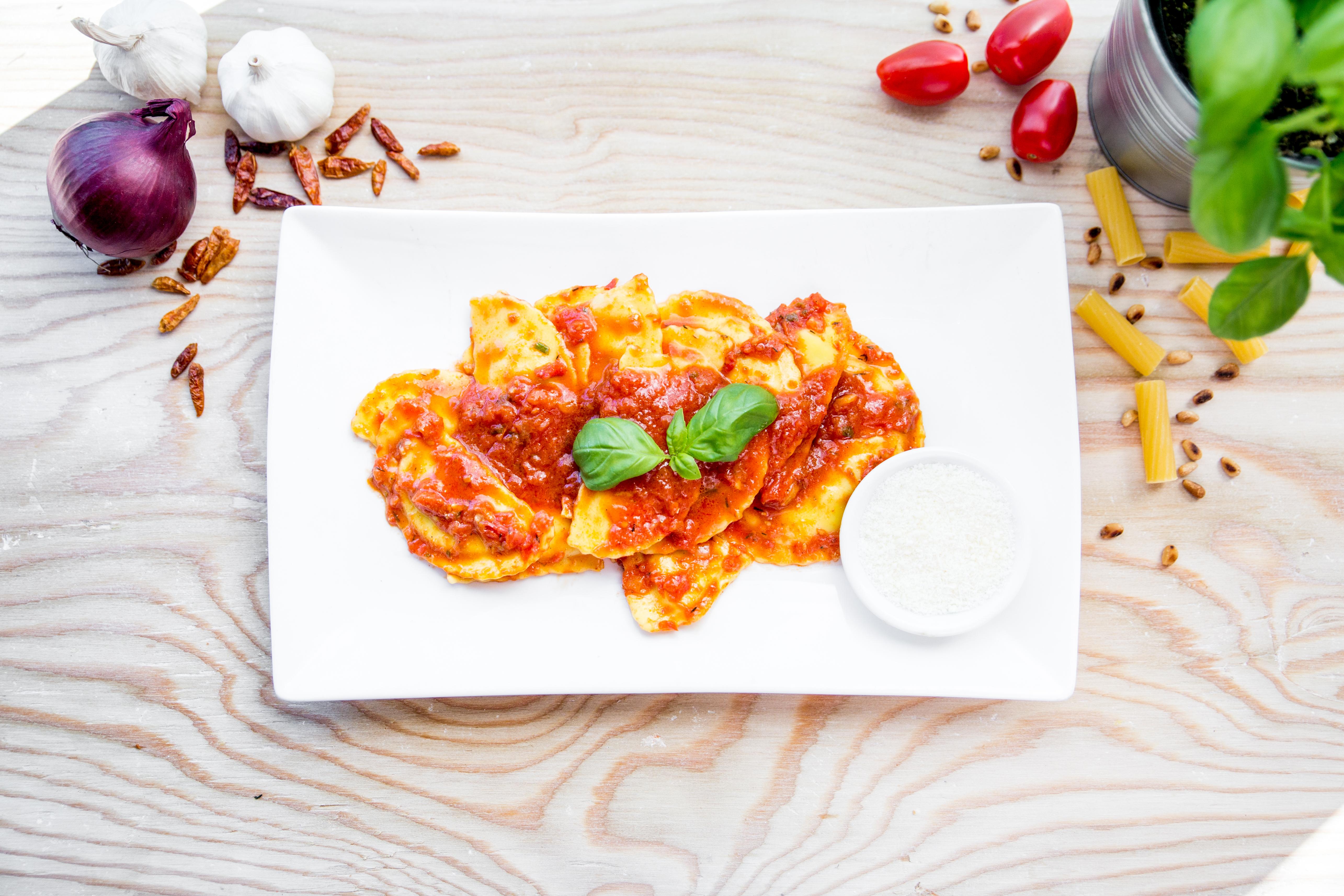 Ravioli (veg)