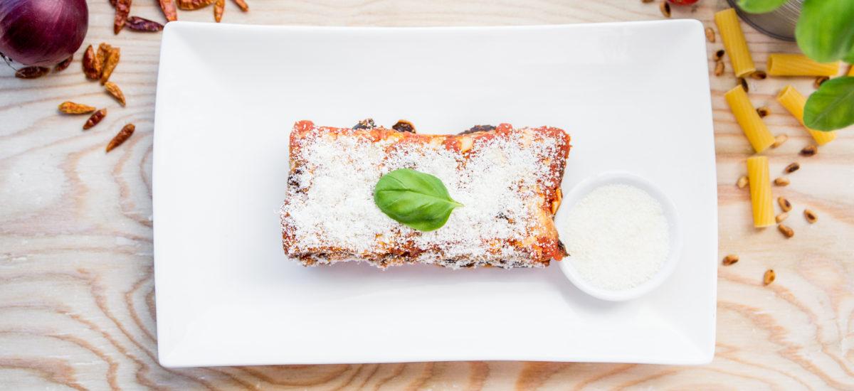 Melanzane alla Parmigiana (veg)